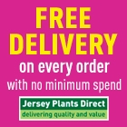 Free Delivery on Every Order at Jersey Plants
